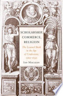 Scholarship Commerce Religion