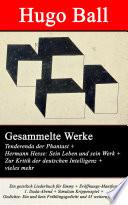 Gesammelte Werke  Tenderenda der Phantast   Hermann Hesse  Sein Leben und sein Werk   Zur Kritik der deutschen Intelligenz   vieles mehr