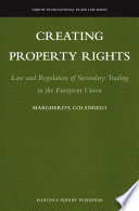 Creating Property Rights