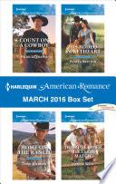 Harlequin American Romance March 2016 Box Set