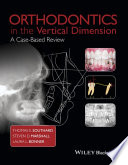 Orthodontics In The Vertical Dimension : problems in the vertical dimension,...