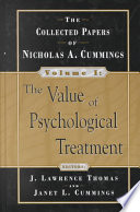The Value of Psychological Treatment Book PDF