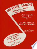 Michael Aaron Piano Course  Curso Para Piano   Bk 2  Spanish  English Language Edition