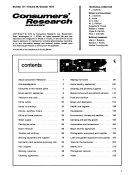 Consumer Bulletin Annual