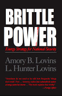 Brittle Power : technical failures, and natural disasters, and discusses...