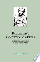 Faulkner s Country Matters