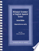 Bilingual Grammar of English Spanish Syntax