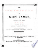 The Court and Character of King James