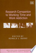 Research Companion To Working Time And Work Addiction book