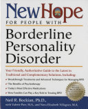 New Hope For People With Borderline Personality Disorder : can overcome the symptoms of borderline personality disorder...