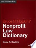 Hopkins  Nonprofit Law Dictionary