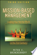 Mission Based Management