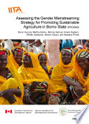 Assessing the gender mainstreaming strategy for promoting sustainable agriculture in Borno state  PROSAB