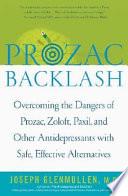 Prozac Backlash