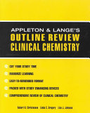 Appleton   Lange Outline Review  Clinical Chemistry