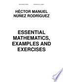 ESSENTIAL MATHEMATICS, EXAMPLES AND EXERCISES From Arithmetic To Calculus Including Fundamental Themes