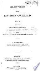 selected works of the rev john owen