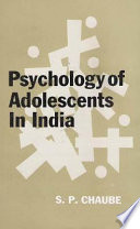 Psychology Of Adolescents In India
