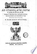 De rebus in electione  profectione  coronatione Henrici regis Poloniae  in Gallia  et in Polonia gestis