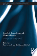 Conflict Resolution and Human Needs
