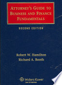Attorney s Guide to Business and Finance Fundamentals
