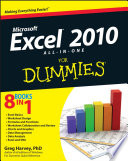 Excel 2010 All in One For Dummies