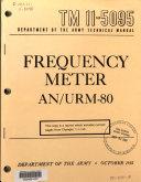 Book Frequency Meter AN/URM-80