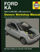 Ford Ka 2003 To 2008 52 To 58 Registration