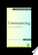 Practice Notes on Conveyancing