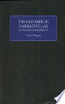 The Old French Narrative Lay