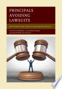 Principals Avoiding Lawsuits