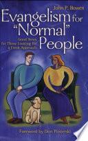 Evangelism for Normal People Pdf/ePub eBook