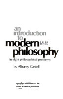 An introduction to modern philosophy in eight philosophical problems