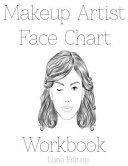 Makeup Artist Face Chart Workbook