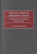 The Four Faces of Affirmative Action
