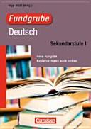 Fundgrube Deutsch