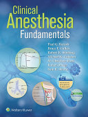 Clinical Anesthesia Fundamentals  Ebook without Multimedia