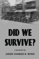 Did We Survive  Book PDF