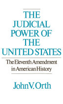 The Judicial Power of the United States