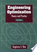 Engineering Optimization book