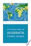 Diccionario de Geograf  a  Ed  Econ  mica