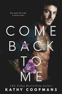 Come Back to Me Book PDF