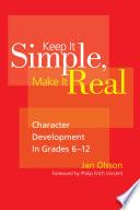 Keep It Simple  Make It Real