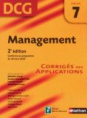 Management     preuve 7   DCG corrig  s