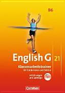 English G 21  B