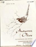 Autumn Olive Book PDF