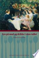 Syn p   mad og drikke i 1800 tallet