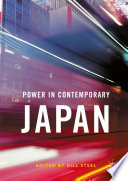 Power in Contemporary Japan