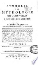 Symbolik und Mythologie der alten V  lker  besonders der Griechen