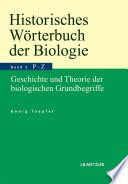 Historisches W  rterbuch der Biologie